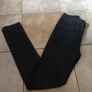 H&M jeans 27x32 black jeans